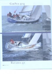 First 42, Bavaria 41, Gib Sea 414, Dehler 41 DS