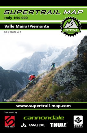 Supertrail Map Valle Maira/Piemonte