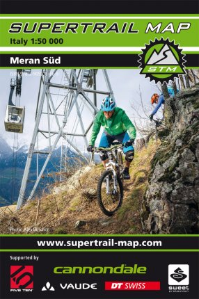 Supertrail Map Meran Süd