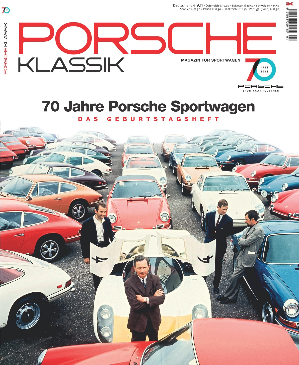 porsche klassik special 70 jahre porsche delius klasing. Black Bedroom Furniture Sets. Home Design Ideas