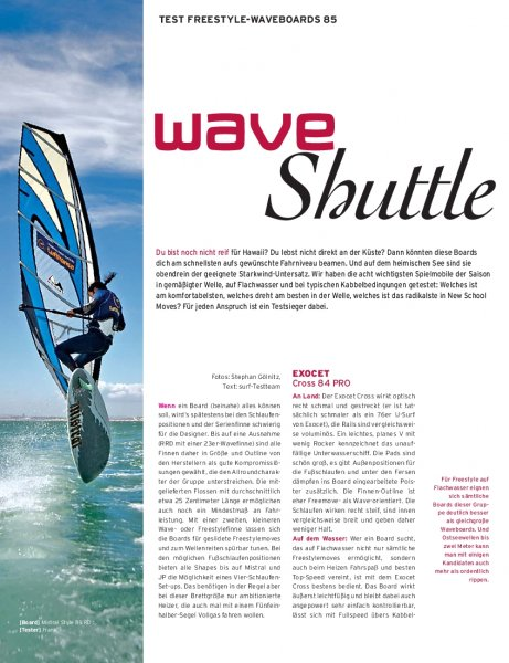 Test: Freestyle-Waveboards 85