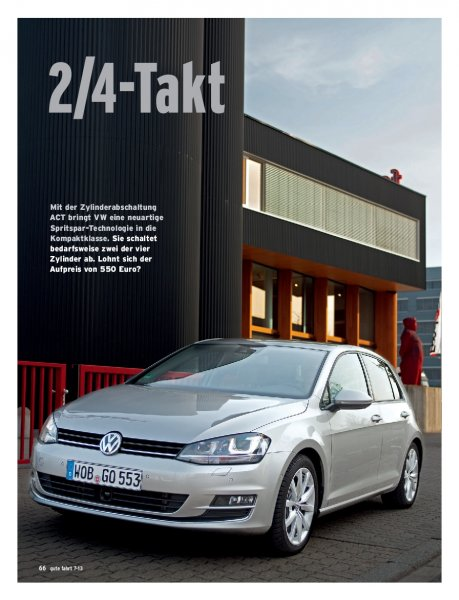 Test: Golf 1.4 TSI ACT 140 PS