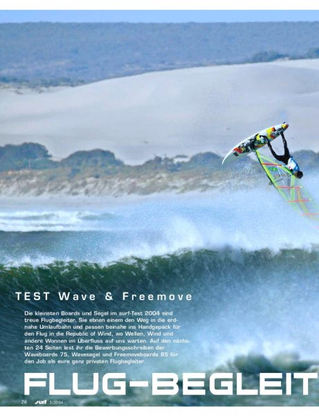 Test: Freemoveboards 85