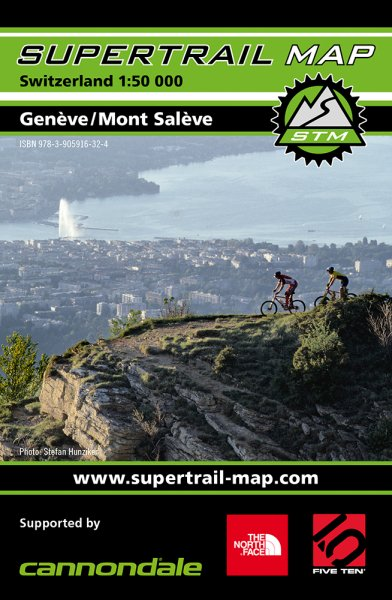 Supertrail Map Genäve / Mont Saläve