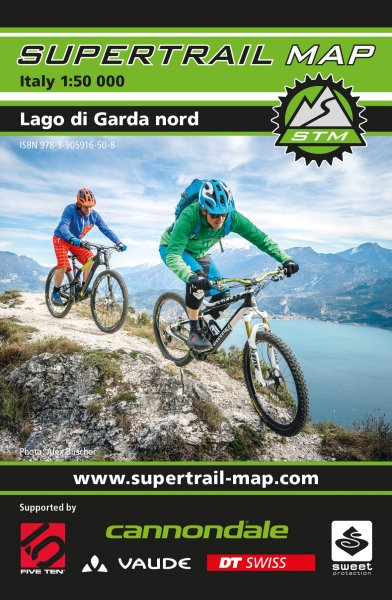 Supertrail Map Lago di Garda Nord