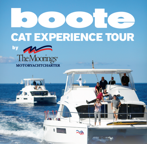 BOOTE Cat Experience Tour by Moorings 2018