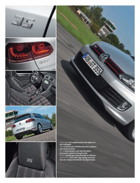 Golf GTI Edition 35 235 PS