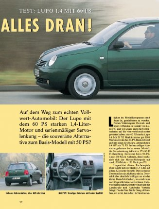 TEST: LUPO 1.4 MIT 60 PS