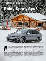 Test: VW Golf Variant Alltrack