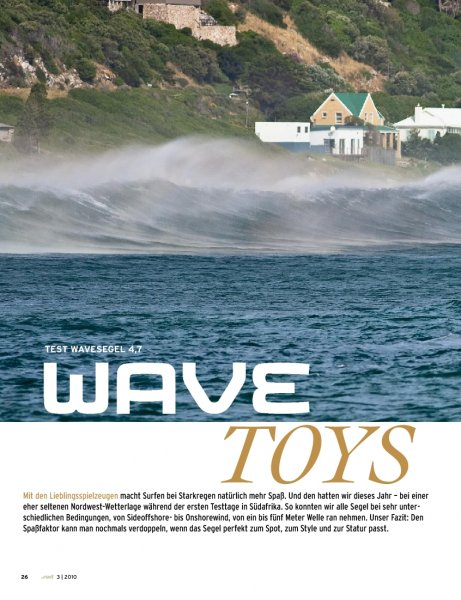 Wavesegel 4,7 2010