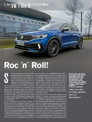 Test: VW T-Roc R 2.0 TSI DSG 4Motion
