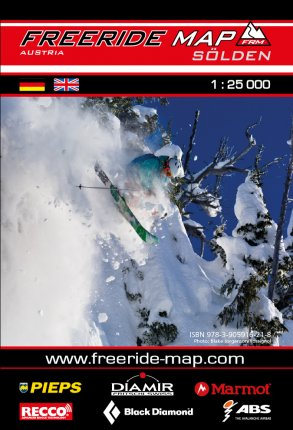 Freeride Map Sölden