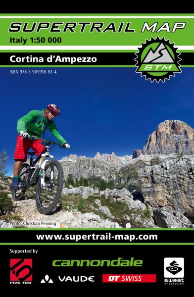 Supertrail Map Cortina d'Ampezzo