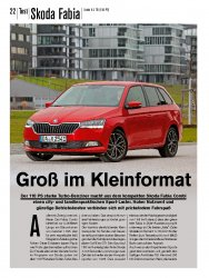 Test: Skoda Fabia Combi 1.0 TSI 110 PS