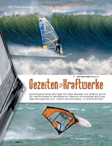 Test: Power-Wavesegel 5,3