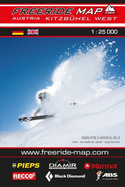 Freeride Map Kitzbühel West