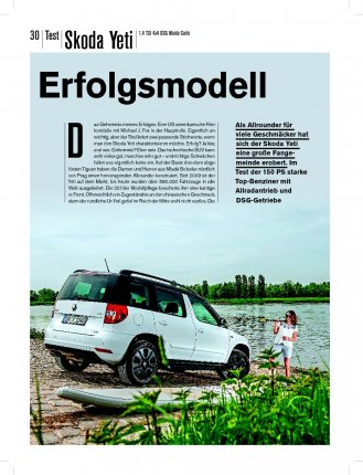 Test: Skoda Yeti 1.4 TSI 4x4 150 PS DSG