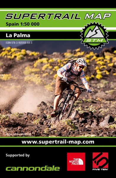Supertrail Map La Palma
