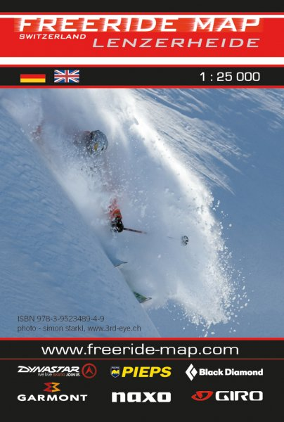 Freeride Map Lenzerheide