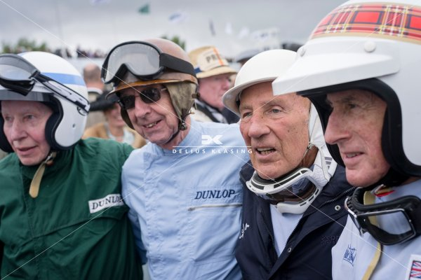 John Surtees, Tony Brooks, Sir Stirling Moss...