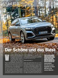 Test: Audi RS Q8 Quattro