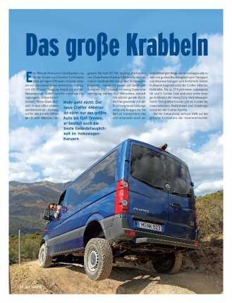 FAHRBERICHT Crafter 4Motion 2.0 BiTDI 163 PS