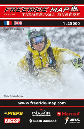Freeride Map Tignes / Val d'Isäre