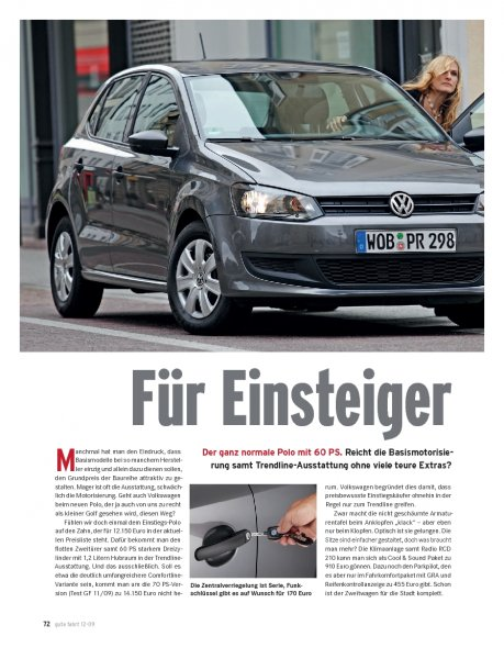 Polo 1.2 mit 60 PS