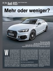 Test: Audi RS5 Coupé 2.9 TFSI Quattro Tiptronic