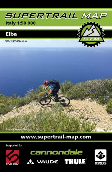 Supertrail Map Elba