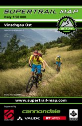 Supertrail Map Vinschgau Ost