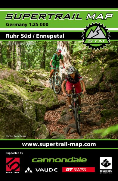 Supertrail Map Ruhr Süd / Ennepetal