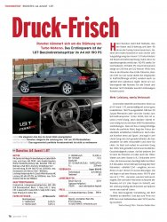 Tuning-Test: Ronotec A4 Avant 1.8T