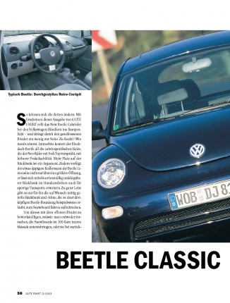 Test: New Beetle 1.6 mit 102 PS
