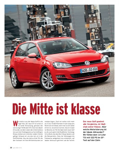 Golf 1.4 TSI BMT 122 PS