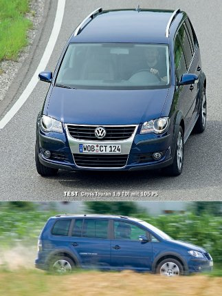 Test: Cross Touran 1.9 TDI mit 105 PS