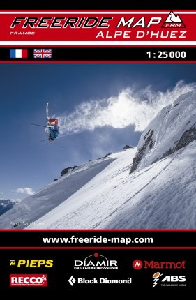 Freeride Map Alpe d'Huez