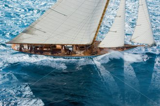 Pace, 15-mR-Yacht THE LADY ANNE vor Saint-Tropez