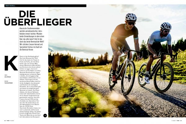 Im Duell: Specialized Tarmac vs Canyon Aerroad
