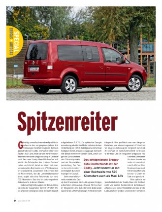 Caddy Maxi Life EcoFuel mit 109 PS