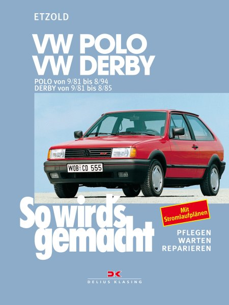 VW Polo 9/81-8/94, VW Derby 9/81-8/85