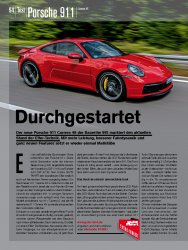 Test: Porsche 911 Carrera 4S