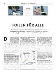 Jollentest: Foiler, The Foiling Dinghy und Skeeta