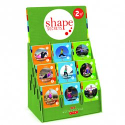 Shape Secrets Display Yoga, BBP, Fatburning