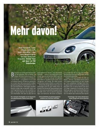 Test: Beetle Cabriolet 1.4 TSI 160 PS