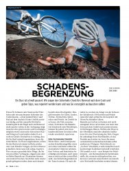 Rennrad-Workshop: Sicherheits-Check nach dem Sturz