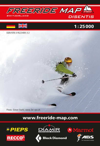 Freeride Map Disentis