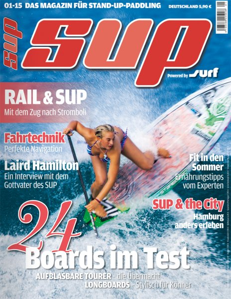 SUP - Stand Up Paddling 1/2015