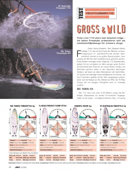 Test: Freestyleboards 110