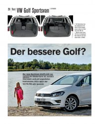 Test: Golf Sportsvan 2.0 TDI 150 PS